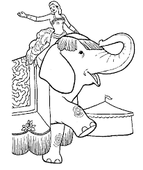 21 Elephants Coloring Pages