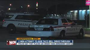 Two Men Attempt To Rob Taco Bell Drive-thru - YouTube Latest Tulsa News Videos Fox23 Two Men And A Truck Core Values And What They Mean To Us Two Men And Truck Colorado Springs Lakeland Team Reviews Of Best Image Kusaboshicom A Google Police Arrest Connected To Food Robberies Newson6 Movers In St Louis Mo