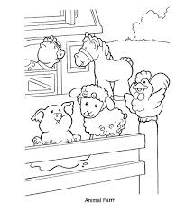 Free Animals And Their Homes Coloring Pages