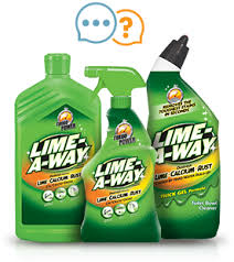 faqs about cleaning water stains lime a way