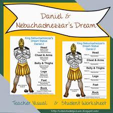 Bible Lesson And FREE Printable Daniel Nebuchadnezzars Dream