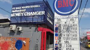 bureau de change moins cher argent banques et bureaux de change à bali lebaliblog