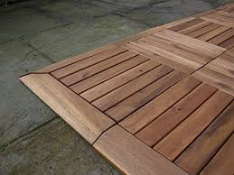 the click deck hardwood decking tiles patio balcony