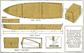 Free Wood Boat Plans by A Portable Folding Boat Boats Pinterest Boat Plans Plywood
