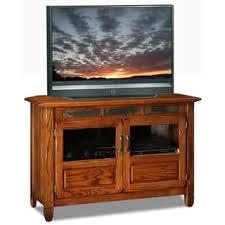 Rustic Oak Slate 46 Inch TV Stand Media Console