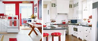 Lovable Red Kitchen Ideas Spelonca