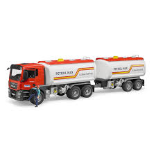 100 Tank Truck Bruder MAN TGS Petrol And Trailer Bundle Jadrem Toys
