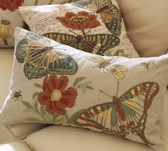 Butterfly Pillows From Pottery Barn.   Birds...Bees...Butterflies ... Pottery Barn Personalized Dog Pillow Covers Bed Replacement Butterfly Pillows From Pottery Barn Birdebutterflies Frantic Lumbar 12x18 Cover Decorative Sham Feather Ebay 20 Inch Round Diy Pillow Case Cover Inspired By Indigo Lovglink Euro Shams White Linen Bezoporuinfo Elegant Interior And Fniture Layouts Pictures Bedding Discontinued Covers Nicholasclonme Belgian Flax Flange Mudd