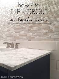 Unsanded Tile Grout Caulk by Master Bathroom Renovation Tile Grout Jenna Burger