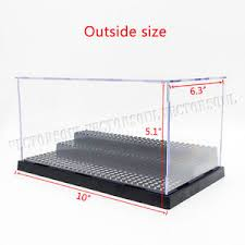 Image Is Loading Acrylic Display Case Self Assembly Box Plastic Protection