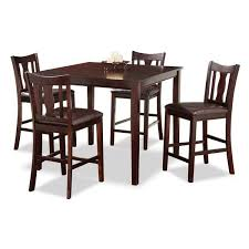 american furniture warehouse 250 kyle 5 piece counter height set