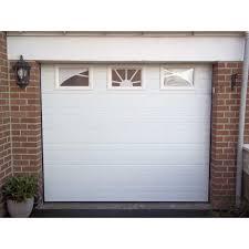 porte de garage sectionnelle traditionnelle