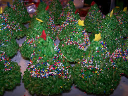 Rice Krispie Christmas Tree Treat Recipe rice krispie treats jo u0027s delights