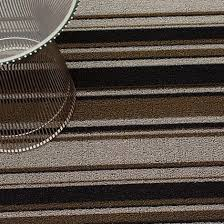 Chilewich Floor Mats Custom Size by Chilewich Indoor Outdoor Shag Mixed Stripe Floor Mat U2014 In 4 Colors