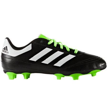 Adidas Goletto VI FG J - Black/White/Green