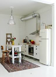 cuisine smeg cuisine avec frigo smeg 15 cuisine style industriel