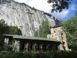 view of the ahwahnee hotel dining room from outside picture of