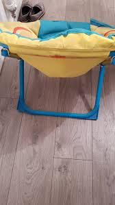 Kids Fold Up Chair Spongebob