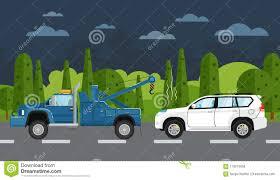 100 Help Truck Tow Evacuating Broken Car Stock Illustration Illustration Of