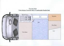 Diy Van Camper Conversion Plans Interiors