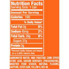 Sunkist Orange Soda 75 Fl Oz 8 Pack
