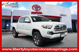 100 Trucks For Sale In Colorado Springs New 2019 Toyota Tacoma 4WD Limited Double Cab Pickup
