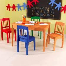 Kidkraft Star Childrens Table Chair Set by Kidkraft Star Kids Piece Table And Chair Set U0026 Reviews Wayfair