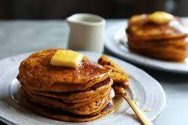 Easy Healthy Pumpkin Pancake Recipe by Fluffy Pumpkin Pancakes Recipe Nyt Cooking