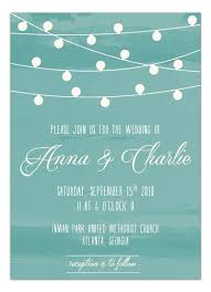 Part Of Our Hanging Lights Wedding Card Suite This Invitation Is Cute And Fun With
