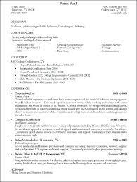 Writing Resume Examples Sample Resumes Science Writer