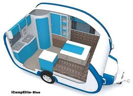 Small Travel Trailers Ultralight Icamp Elite With Bathroom