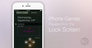 6 Games You Can Play From iPhone Lock Screen [No Jailbreak