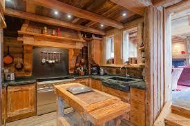 cuisine style chalet chalet cuisine idées décoration intérieure farik us