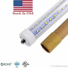 8ft led fa8 single pin v shaped t8 led light 4ft 5ft