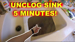 Diy Sink Clog Remover by How To Unclog Kitchen Sink Drain In 5 Minutes Easy Jonny Diy