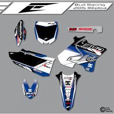 kit deco 85 yz kit déco bud racing 2015 yamaha eight racing