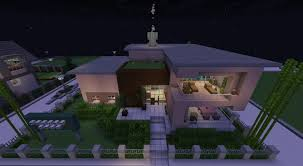 modern house modernes stadt haus minecraft map