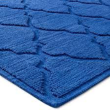 ogee botanic bath mat blue monday 21 x30 threshold target