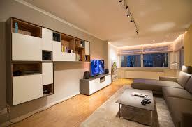 stauraum wohnzimmer tv lösung modern wohnzimmer