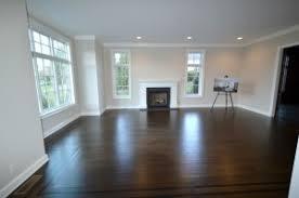 Dark Hardwood Flooring Living Room Dining