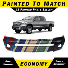 100 Dodge Ram Pickup Truck NEW Painted To Match Front Bumper Cover For 20062009