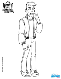 Mr Hackington Moe Slow Deadovitch Coloring Page
