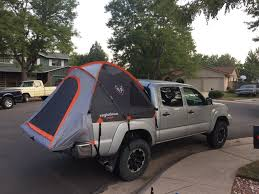 truck bed tent tacoma world