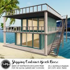 100 Shipping Container Beach House ChiMia SOI Gacha Garden