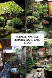 100 Landscaping Courtyards 45 Calm JapaneseInspired Courtyard Ideas DigsDigs