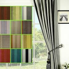 Blue Vertical Striped Curtains by Curtains Glass Window With Decorative Vertical Striped Curtains