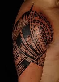 Nice Celtic Tattoo On Shoulder