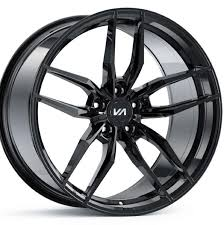 100 Black And Chrome Rims For Trucks 20 Varaint Krypton Ged Wheels 20x10 KIXX