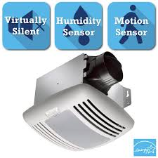 Top Ductless Bathroom Fan With Light by 210 Cfm Ceiling Utility Exhaust Bath Fan 8210 The Home Depot