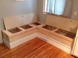 ana white diy breakfast nook with storage diy projects